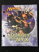 Magic the Gathering MTG Journey into Nyx Players Guide