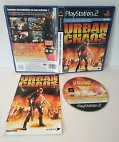 URBAN CHAOS - Jeu PS2 - Pal français - Complet - Comme neuf