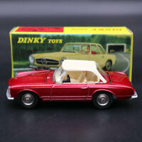 Dinky Toys 516 Models 1:43 Scale Atlas Toys Mercedes Benz 230 SL Rouge Diecast