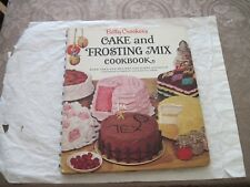 Betty Crocker's Cake and Frosting Mix Cookbook ~ First Edition - First Printing