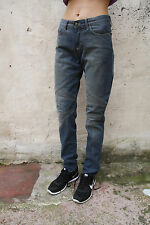 Just Cavalli Blue Denim Slim Fit Jeans Faded Made in Italy W30 EU44 Uk12 LOOK!!