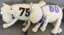 Curto Serta Counting Sheep #75 & #60 - tag Purple Blue Eyes Cancer Anniversary