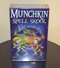 Munchkin Spell Skool Steve Jackson Games Art by Katie Cook Walgreens Exclusive