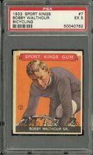 1933 Sport Kings Bicycling #7 Bobby Walthour PSA 5