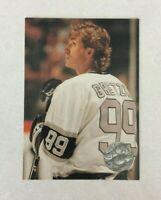 NHL WAYNE GRETZKY Pro Set Platinum 91-92 LA Kings Hockey Trading CARD #PC4