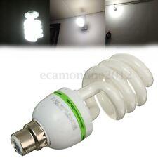 Daylight White Colour 40W Energy Saving Spiral Light Lamp Bulb Bayonet Cap B22