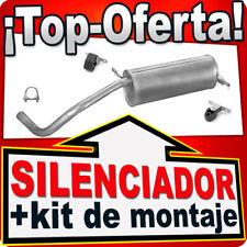 Silenciador Trasero SEAT IBIZA FABIA VW POLO 1.2 02-05 HATCHBACK Escape AAL