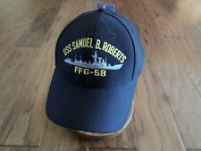 USS SAMUEL B. ROBERTS FFG-58 NAVY SHIP HAT U.S MILITARY OFFICIAL BALL CAP DIRECT