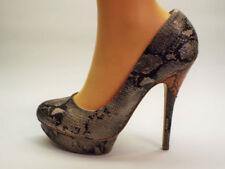 NEXT Textile Slim Court Heels for Women