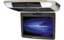 "POWER ACOUSTIK PMD-112 OVERHEAD FLIPDOWN 11.2"" LCD MONITOR DVD PLAYER BLACK GRAY"
