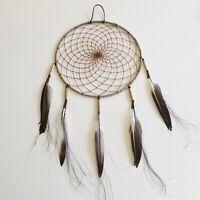 """Native American Navajo Rustic Dream Catcher Collectible 10"""""""