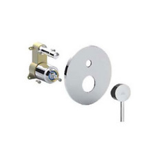 LIGBOX015CR Set esterno con mix incasso doccia con deviatore LIGHT PAFFONI