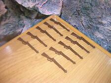 (B 8/15) 10 x Winchester rifles ACW sudistas yanquis personalmente soldados Western