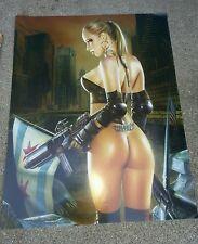 Heavy Metal MAY 2001 Cover Poster by LORENZO SPERLONGA Belvedere Steampunk Art