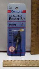 """Century ROUTER BIT - BEADING #39197 ¼"""" Cutting Radius - Design #3925"""