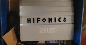 Hifonics ZG-1800.1D ZEUS Gamma 1800 Watt Mono Amplifier Car Audio Class D Amp
