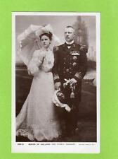 Queen of Holland & Prince Consort unused RP pc Rotary