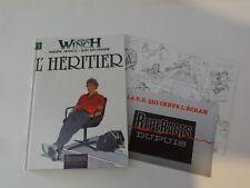 BD  Largo Winch - N°1 - L'Héritier   - E.O  + Poster - 1990 - TBE - Francq
