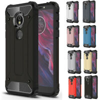 For Motorola Moto E5 G6 Play Plus Case Rugged Shockproof Armor Hybrid Hard Cover