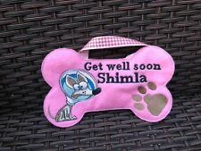 Dog Personalised get well soon treat  Bag, for dogs