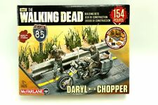 The Walking Dead Daryl & Chopper Motorcycle Building Set McFarlane 2014 #14525