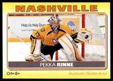 2012-13 O-Pee-Chee Stickers Pekka Rinne #S-59