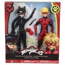 Miraculous Ladybug Lady Noire and Mister Bug Doll Exclusive Set Noir