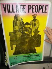 Village People Concert Poster 1979 - Look!