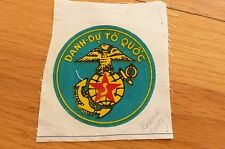 ARVN SOUTH VIETNAM VNMC US ADVISERS MARINES POCKET ROUNDEL PATCH MINT ORIGINAL