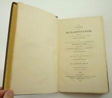 1818 History of MUHAMMEDANISM Charles Mills ISLAM Prophet CULTURE Muslim EMPIRES