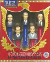 Presidents of The United States Volume 6: Pez Limited Edition Collectible Gift