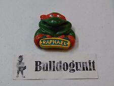 Raphael Rad Badge Burger King Teenage Mutant Ninja Turtles Toy 1989 Toothbrush