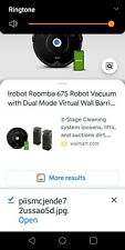 irobot roomba 675 robot vacuum-wi-fi connectivity New In The Box