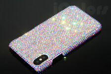 Bling AB Crystal Diamond Case PC Hard Cover For iPhone X WITH SWAROVSKI ELEMENTS