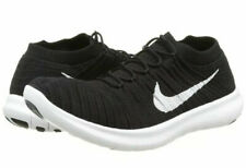 Nike Free RN Motion Flyknit Running Shoes Trainers Men's Black 834584-001  SZ 13