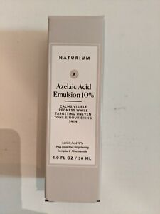 Naturium Azelaic Acid Emulsion 10% FULL SIZE 1.0 FL OZ