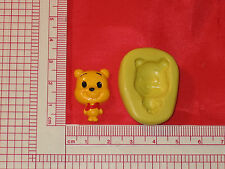 Baby Winnie the Pooh Silicone Push Mold A697 For Craft Chocolate Resin Fondant