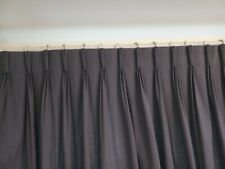 Huge John lewis triple pinch pleat lined curtains, top width 380 and drop 240cm