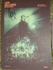 More details for liam gallagher mtv unplugged hull signed a4 poster