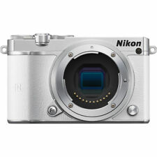 NEW BOXED NIKON 1 J5 BODY ONLY DIGITAL CAMERA / WHITE