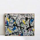"Framed Canvas Giclee Print Art Summertime No.9A,1948 by Jackson Pollock 20""x24"""
