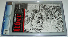 Uber #1 CGC 9.8 Blitzkrieg Sketch Variant Cover 2013 Avatar Press Gillen & White