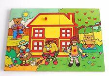 Vintage década de 1960 a años 80 BBC2 TV ~ Play Escuela ~ ~ Humpty Dumpty Bandeja Puzzle