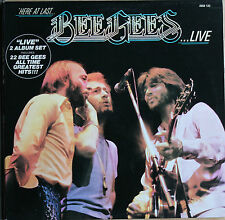 HERE AT LAST ..BEE GEES... LIVE   33T 2LP