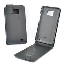 custodia eco PELLE nera cover anti-shock per SAMSUNG i9020 Galaxy nexus
