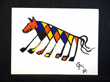 Beastie by Alexander Calder ORIGINAL LITHO 1974 BRANIF