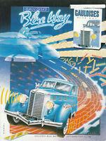 Publicité ancienne cigarettes Gauloises 1982 issue de magazine