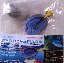 鳥羽水族館Yujin Marine Fish Gashapon Palette Surgeonfish (color stone)