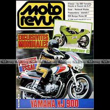 MOTO REVUE N°2596 BARIGO ROTAX KAWASAKI KR 500 YAMAHA XJ 900 YZR 500 OW 70 1983