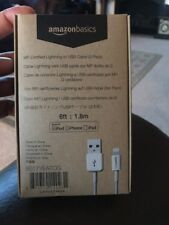 iPhone lightning cable 6ft Amazon. 2 In Box. Good For Any iPhone. New Box